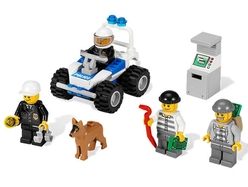 Lego Police Minifigure Collection #4