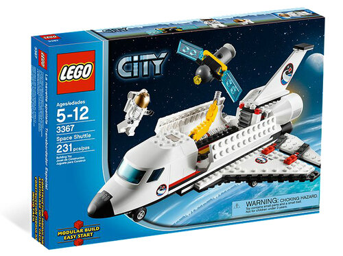 Lego Space Shuttle #6