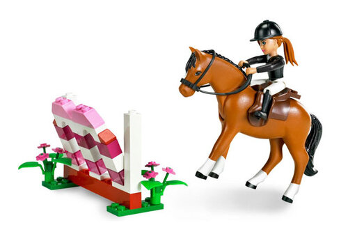 Lego Horse Jumping #3