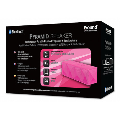 i.Sound Pyramid Pink - 2