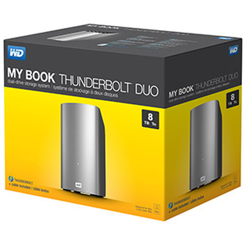Western Digital My Book Thunderbolt Duo - 1
