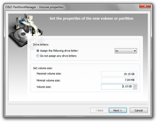 O&O Software PartitionManager 3 Professional Edition - 5