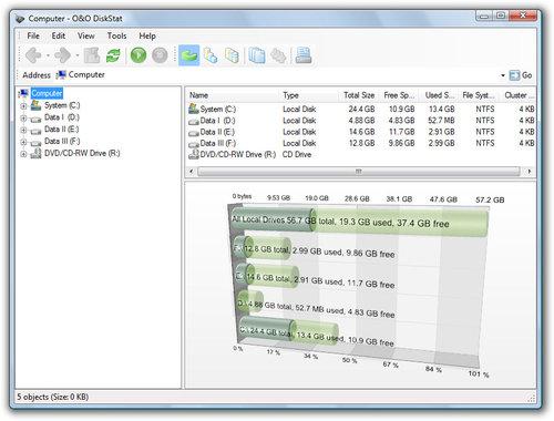 O&O Software DiskStat 2 Professional Edition - 2