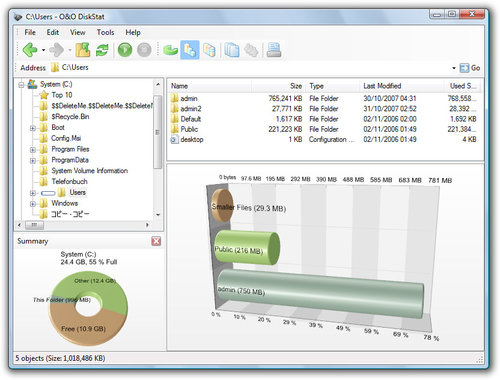 O&O Software DiskStat 2 Professional Edition - 3