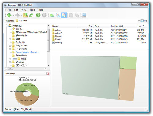 O&O Software DiskStat 2 Professional Edition - 4