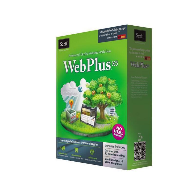 Serif webplus x4 vollversion für windows se-10992 for sale.