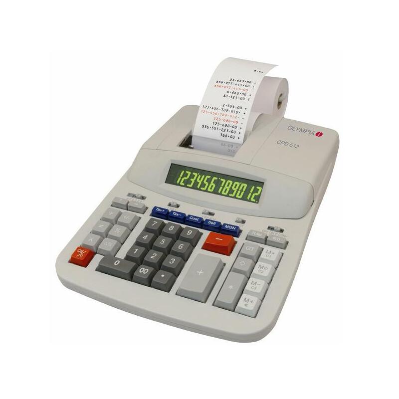 OLYMPIA CPD 3212T Desk Calculator
