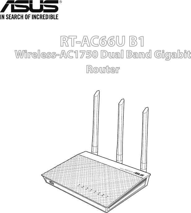 User Manual Asus Rt Ac66u 232 Pages