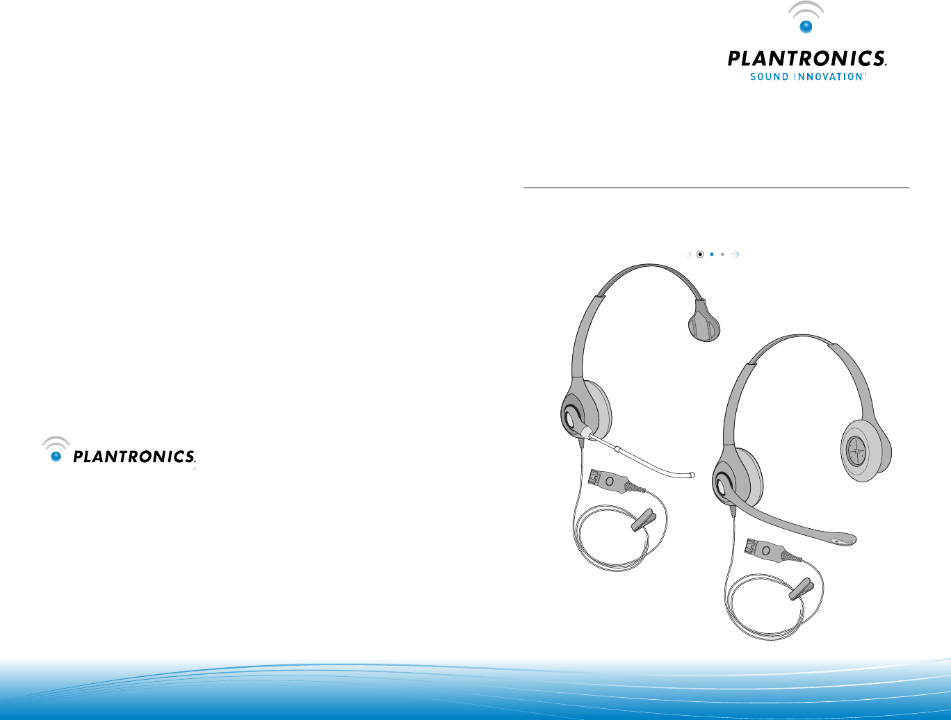 User Manual Plantronics Supraplus Hw261n 7 Pages