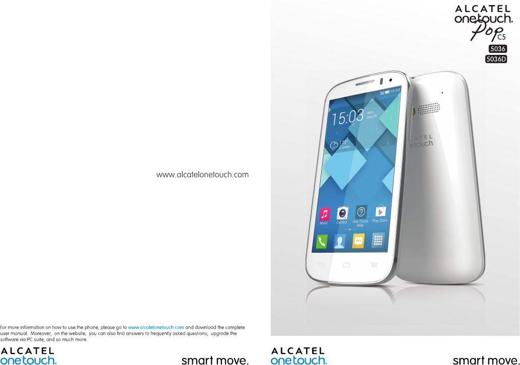 Alcatel One Touch Pop C5 5036X