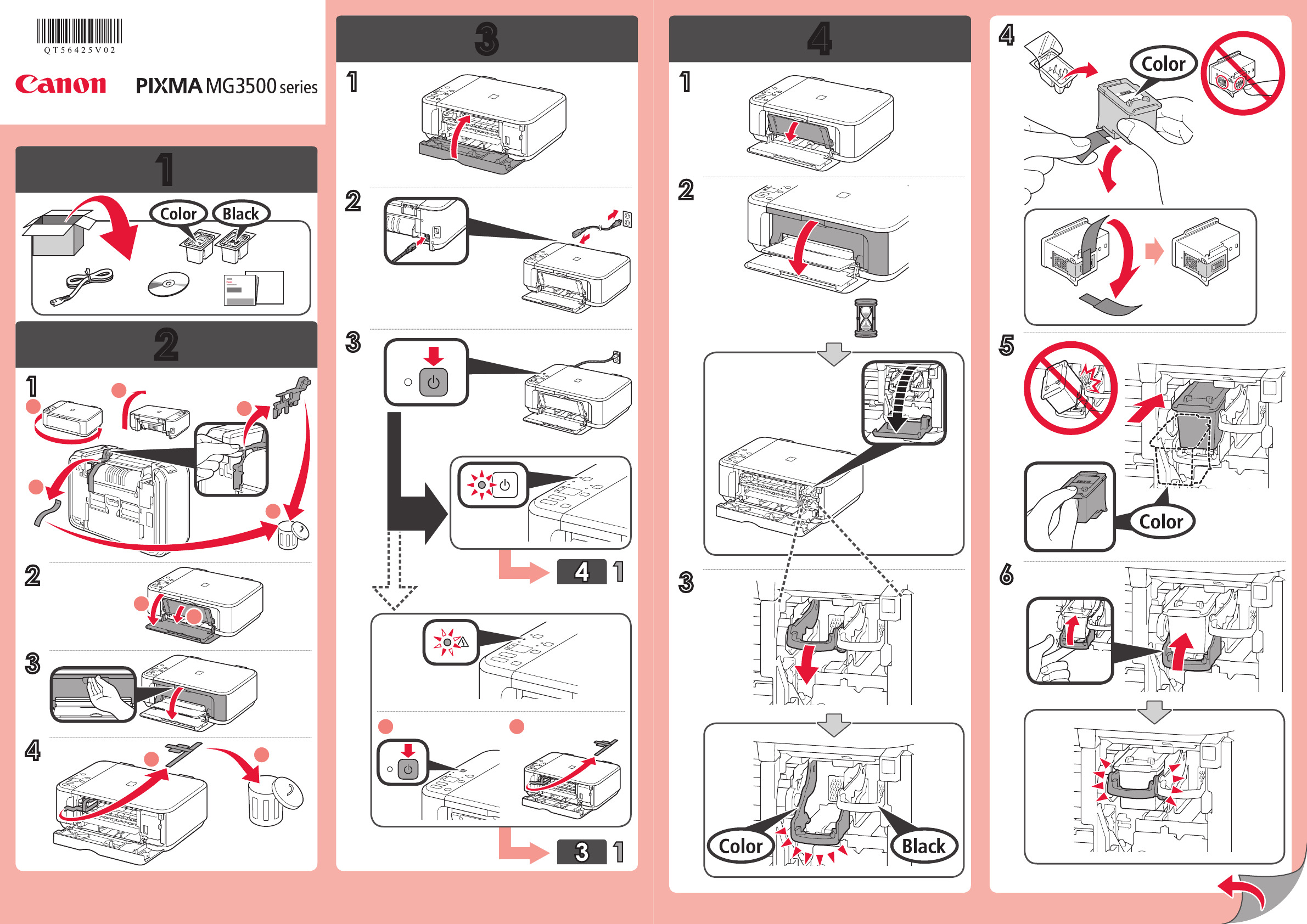 User manual Canon Pixma MG200 English   20 pages
