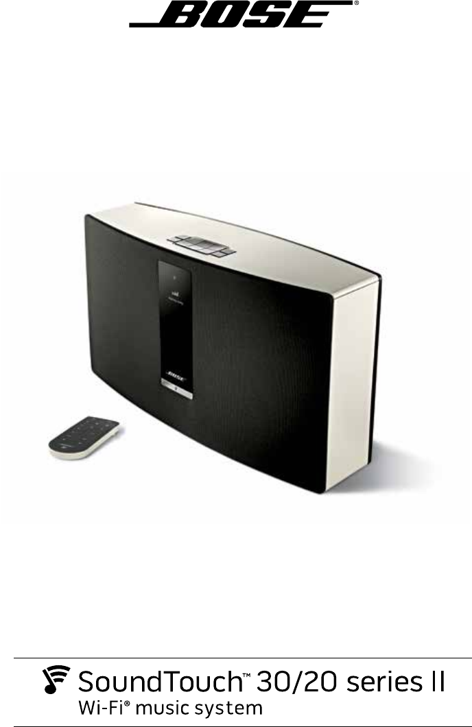 User Manual Bose Soundtouch 20 Series Ii 28 Pages Manual Guide