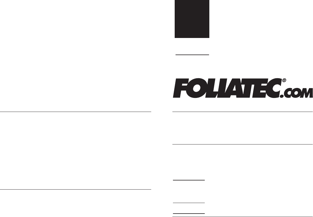 Foliatec 34120 Lack Schutzfolie Set t/ürgriff