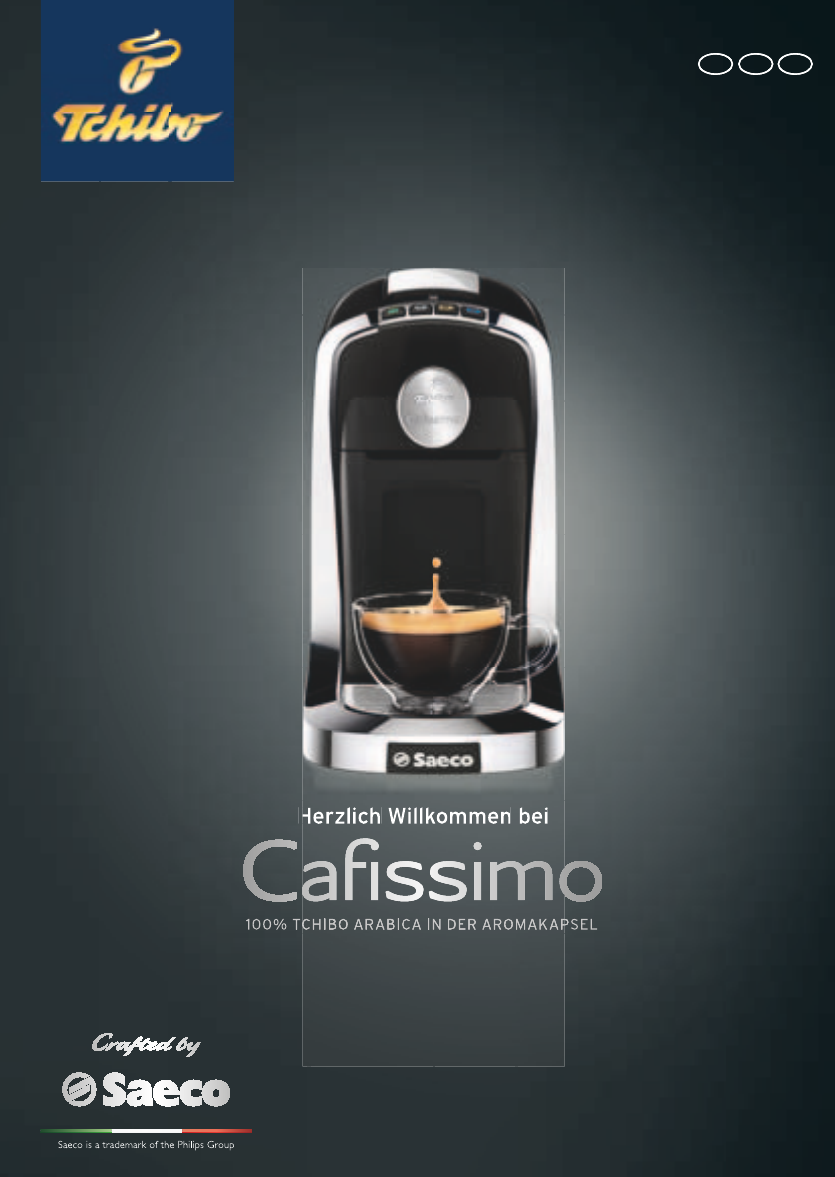 User Manual Tchibo Cafissimo Tuttocaffe 53 Pages