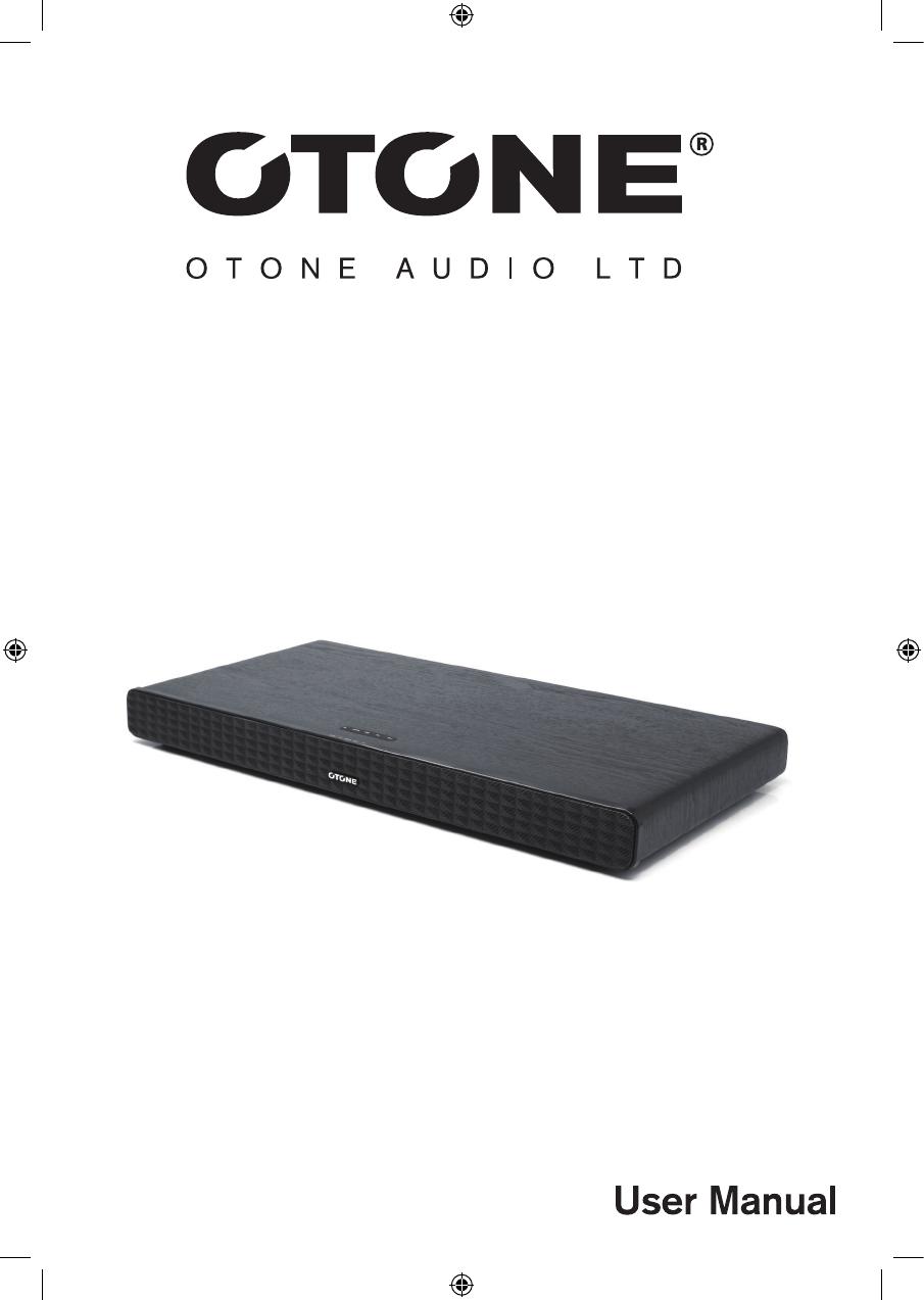 📖 User manual OTONE Audio SoundBase (12 pages)