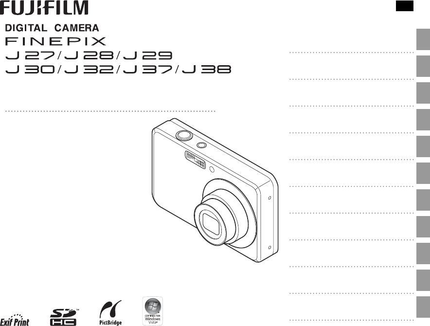 User manual Fujifilm FinePix J30 (105 pages)