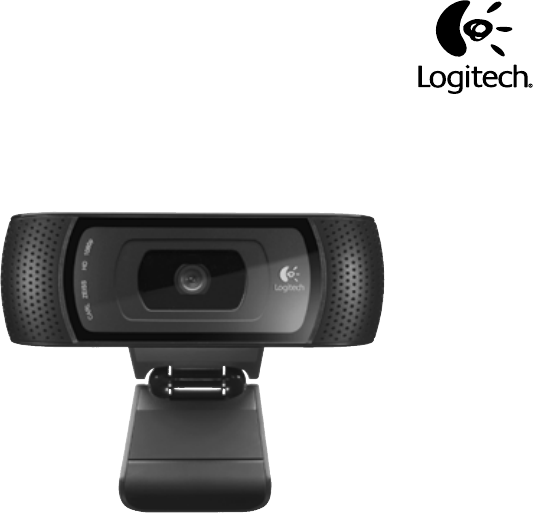 User Manual Logitech Hd Pro C910 144 Pages
