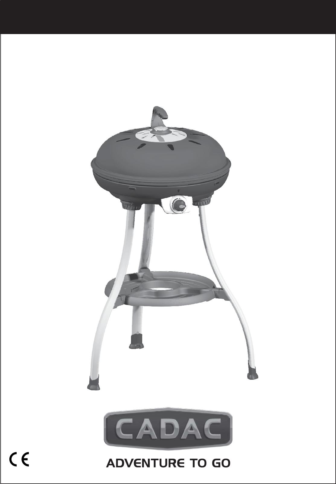 Cadac Carri Chef 2 Bbq Skottel Combo.User Manual Cadac Carri Chef 2 Bbq Skottel Combo 13 Pages