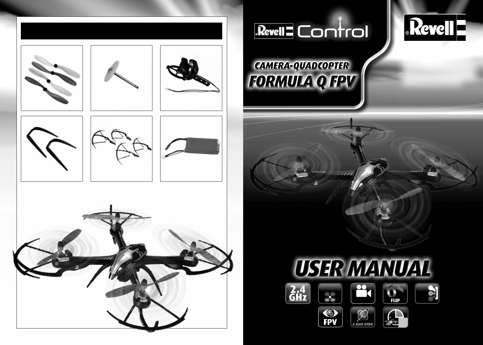 📖 User manual Revell Formula Q Fpv (28 pages)