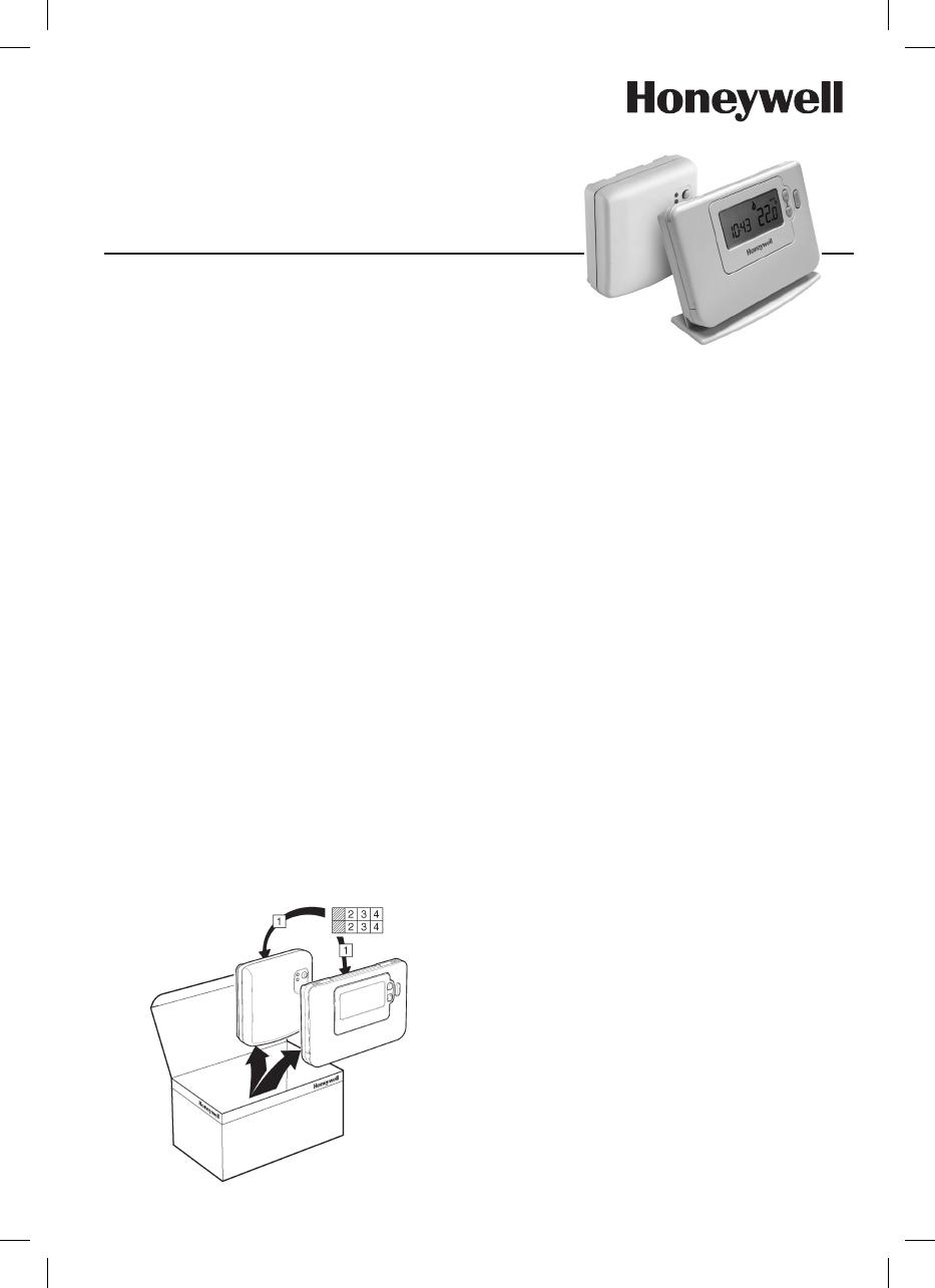 Crono Termostato Honeywell Cm727 Manual Guide