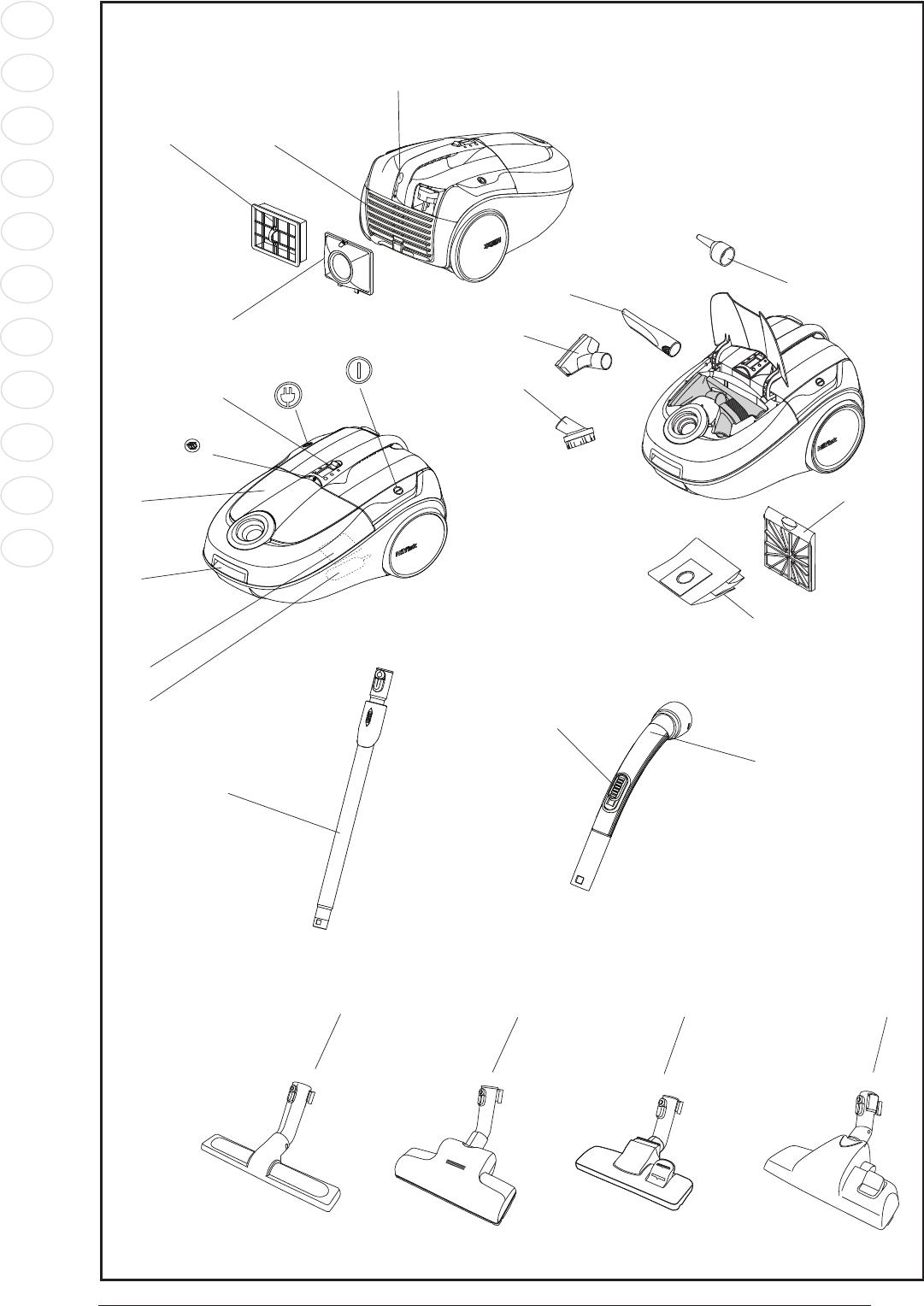 User Manual Nilfisk Bravo  16 Pages