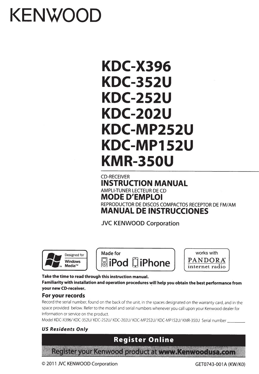 kenwood kdc 252u cd player wiring diagram user manual kenwood kdc 252u  24 pages   user manual kenwood kdc 252u  24 pages