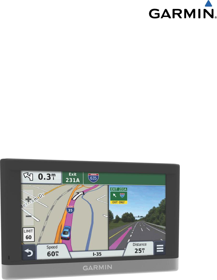 Garmin Nuvi 2797lmt User Manual