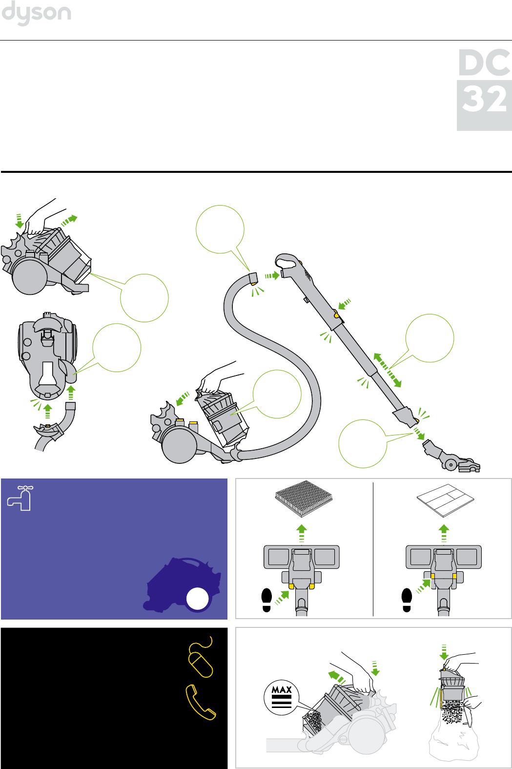 Dyson dc32 инструкция отзывы о dyson работа