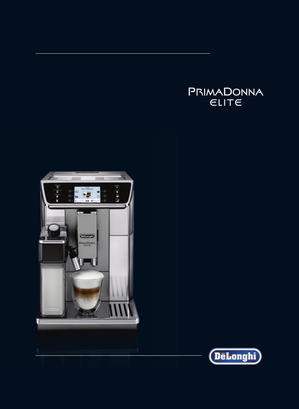 User Manual Delonghi Primadonna Elite Ecam 65055ms 30 Pages