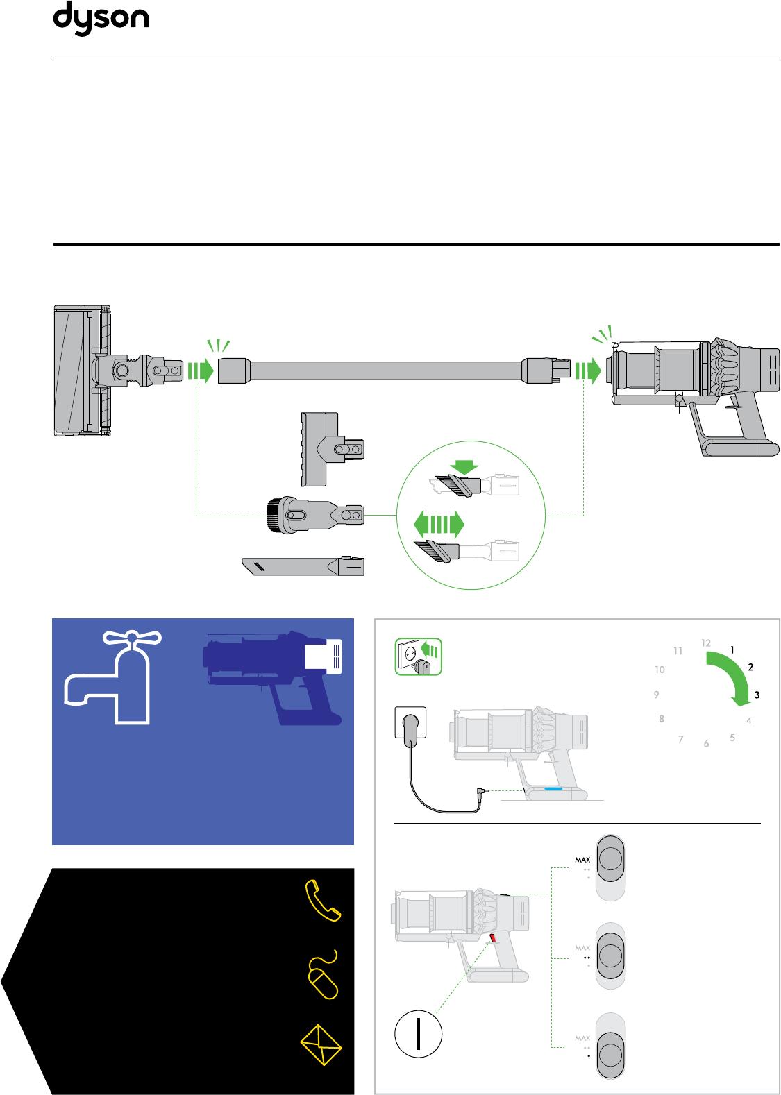 инструкция по эксплуатации пылесоса дайсон v6