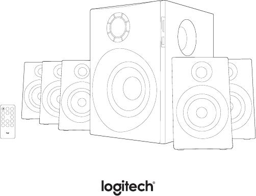 📖 User manual Logitech Z607 (322 pages)