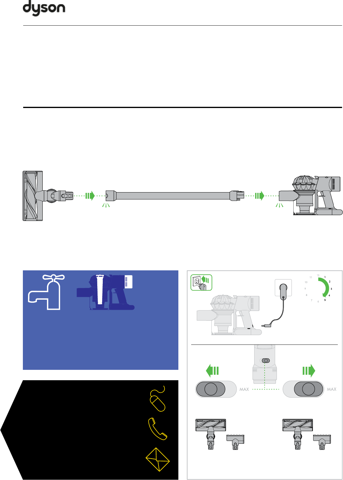 Инструкции дайсон dyson digital slim пылесос